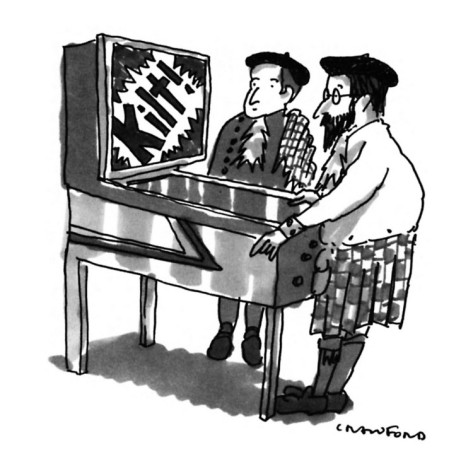 michael-crawford-kilt-wearing-scotsmen-are-playing-a-pinball-machine-it-flashes-kilt-in-new-yorker-cartoon